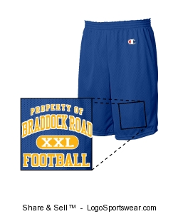 Jersey Shorts Design Zoom