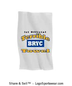 Terrible Towel Design Zoom